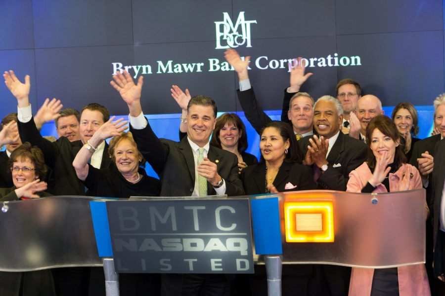 Bryn Mawr Bank Corporation Reports Second-Quarter Increases