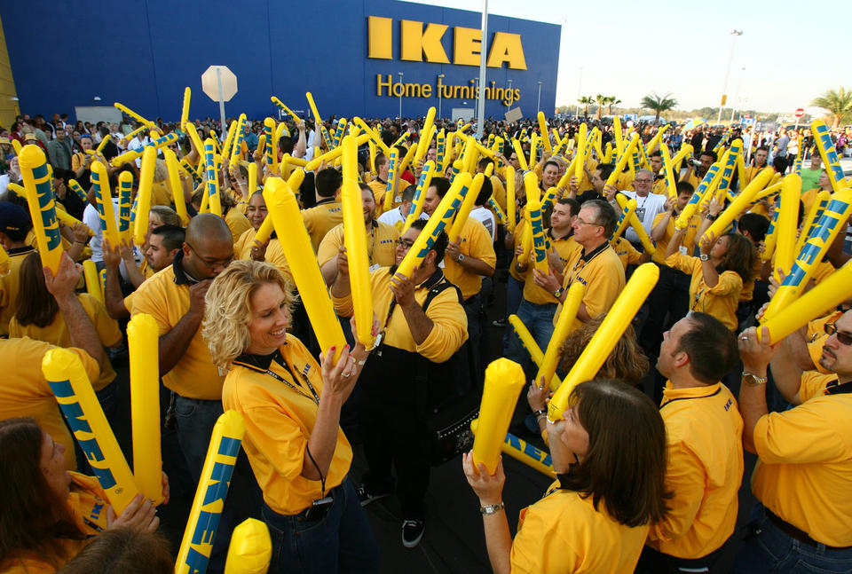 IKEA Ranks Highly on Largest Green Power Users List