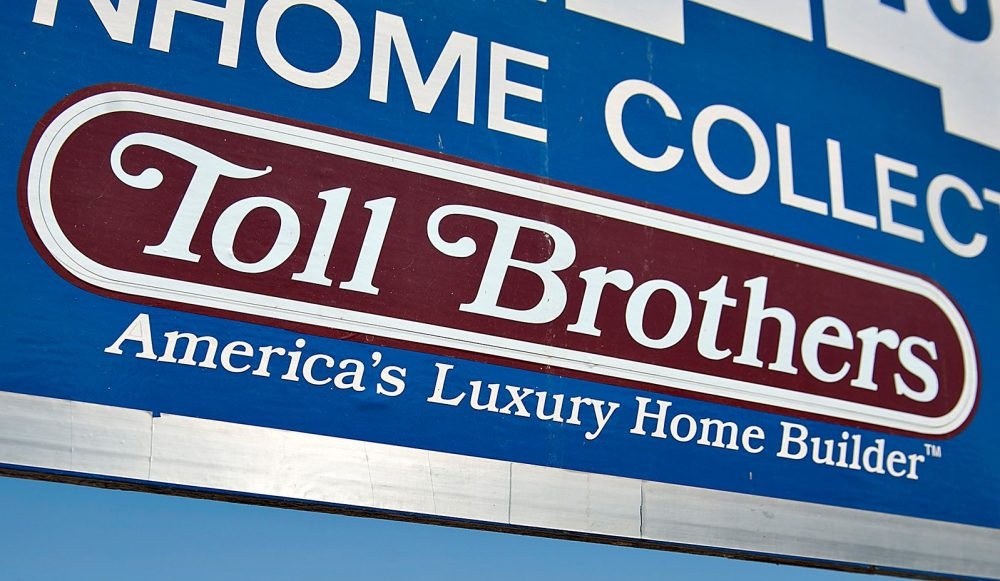 Horsham-based Toll Brothers reported third-quarter profit of $193.3 million
