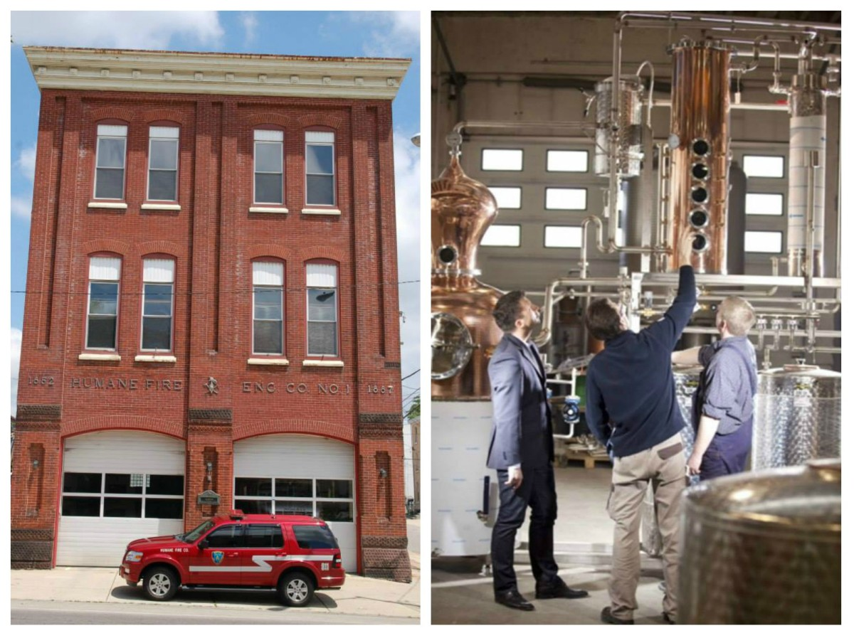 Five Saints Distilling Holds Grand Opening for Firehouse-Themed Micro-Distillery in Norristown