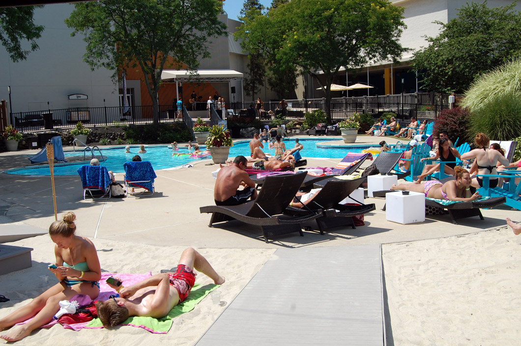 Valley Forge Recreates Beach Experience As It Debuts Food Truck Reopens Poolside Club