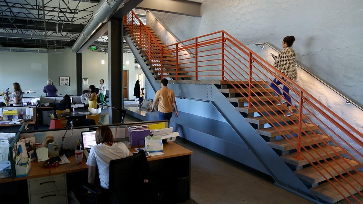 Advertising Agency's Remodeled Office in Ambler Fosters Collaboration, Communication