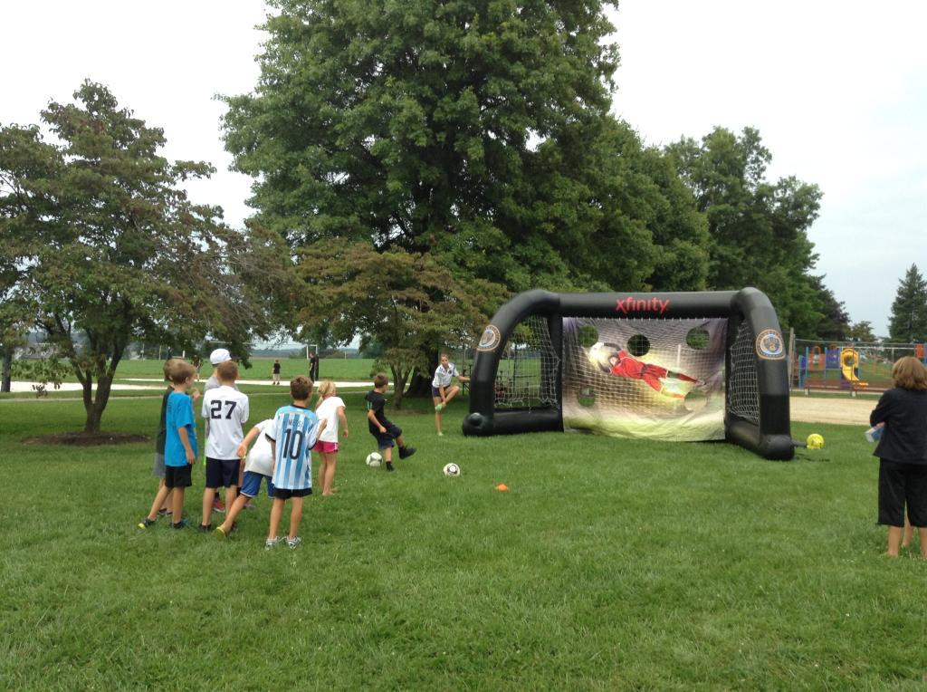 Philadelphia Union Visit Thrills Flourtown Day Camp Participants