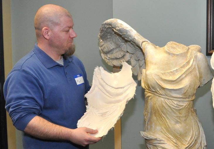 Penn State Abington Students Restore Historic Sculpture