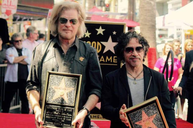 Rock Legends from Montgomery County Receive Their Hollywood Star