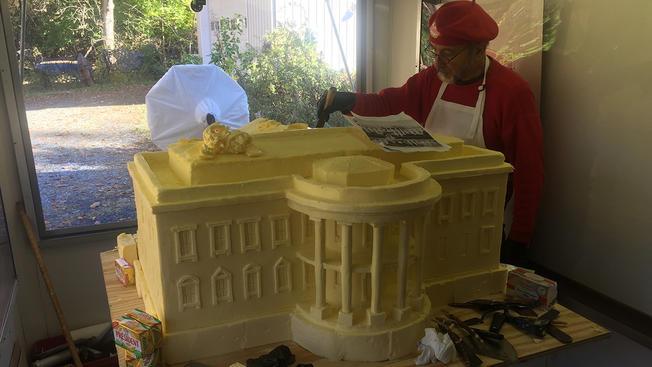 Conshohocken Artists Using Butter for White House Sculpture
