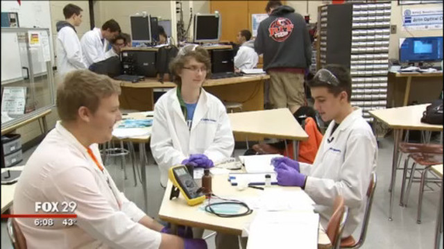 North Penn Engineering Students Launch Crowdfunding Campaign to Finance UK Trip