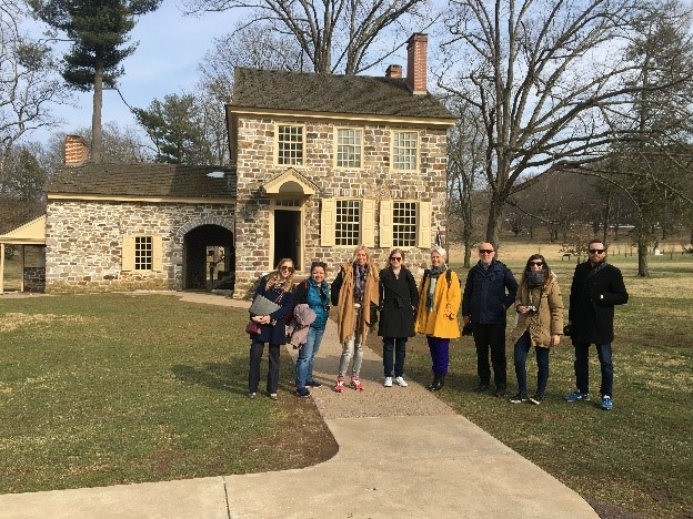 International Travel Writers Visit Valley Forge, KofP Mall