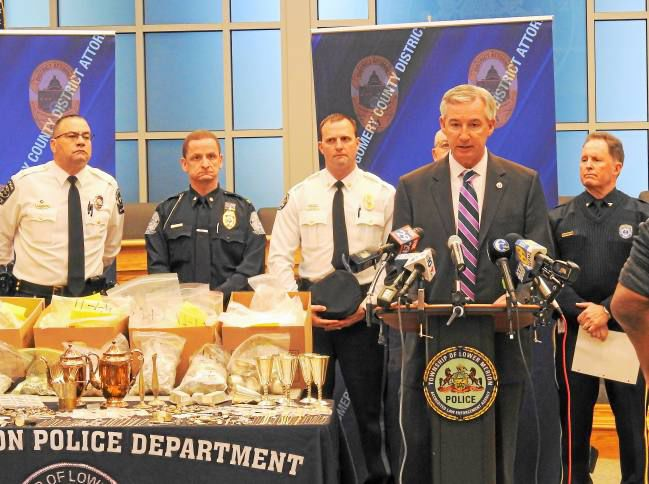 Website to Locate Stolen Jewelry Launched by Montgomery County DA and Police