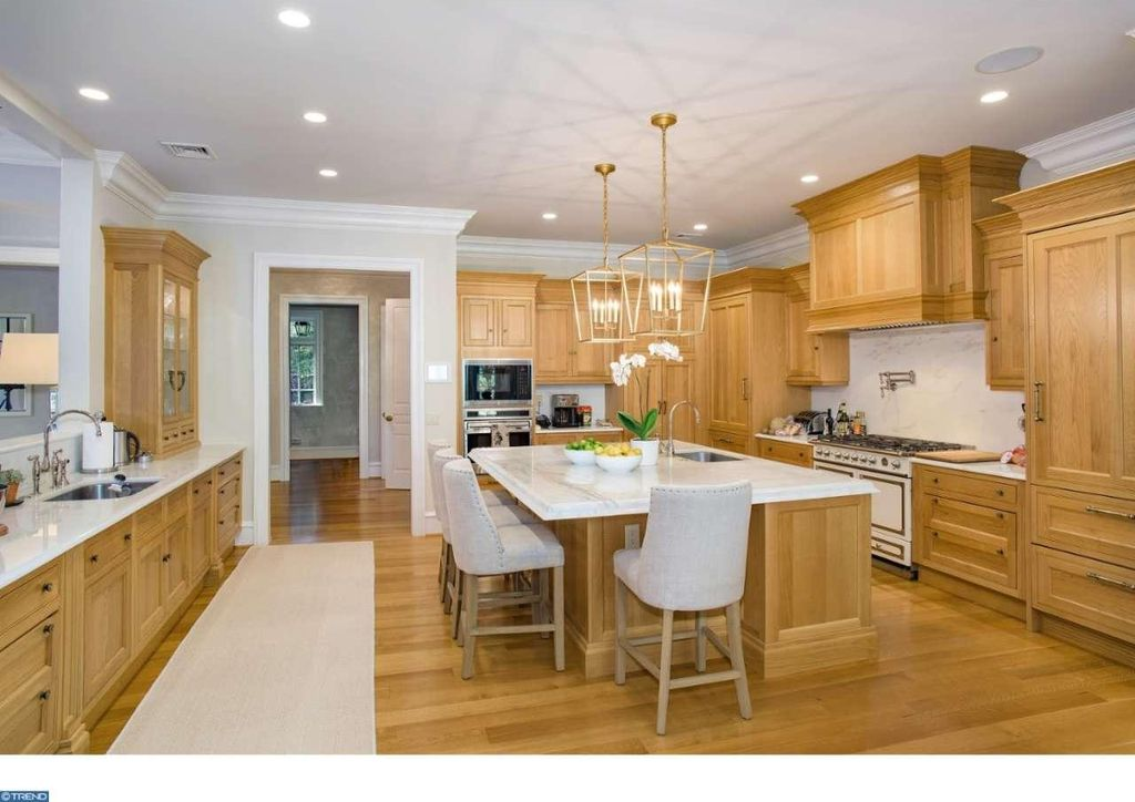 Stone Mansion Kitchen