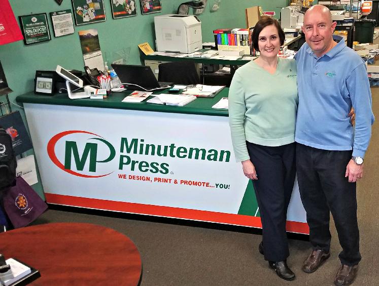 Couple Finds Work-Life Balance, Opens Minuteman Press Franchise in Glenside