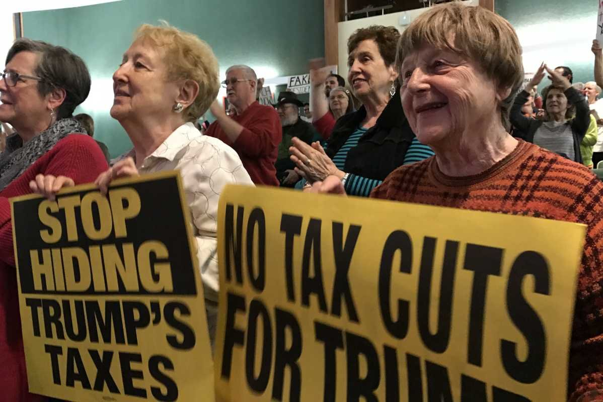 Activists from Past Decades Gathered for Rally in Montgomery County