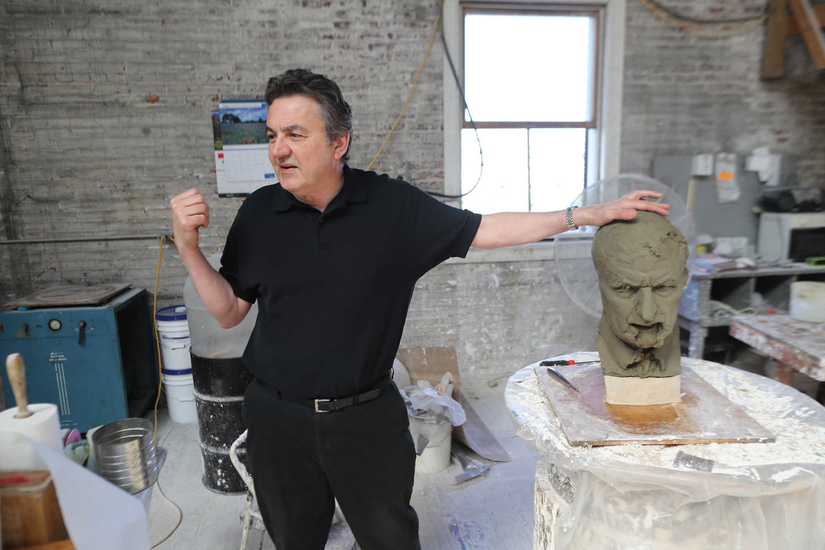 Glenside Sculptor Creating Controversial Statue for Tennessee
