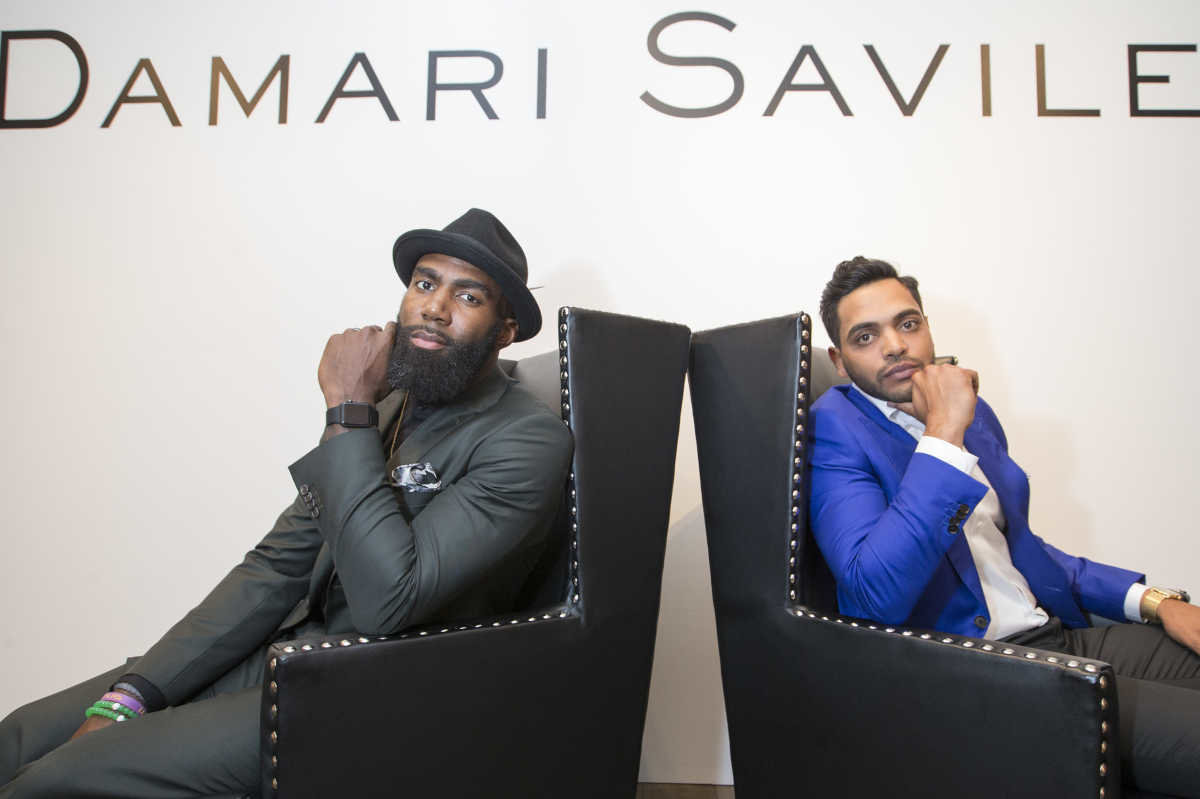 Lansdale's Jay Amin Partners with Eagles Malcolm Jenkins to Open Men's Fashion Store