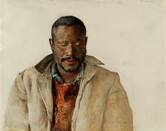 From Delco: Secrets in Andrew Wyeth's Artwork of Black People Paint New Picture of His View on Race