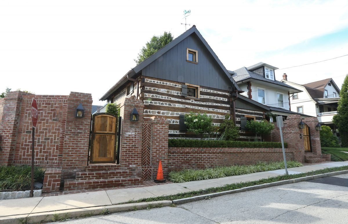 log house from early eighteen century uncovered in bryn mawr
