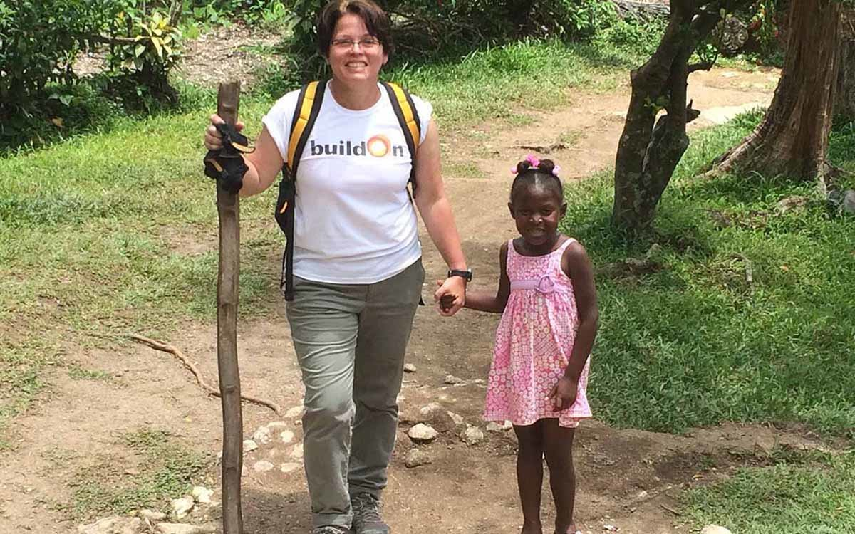 Bala Cynwyd Middle School Teacher Joins buildOn to Help Build a School in Haiti