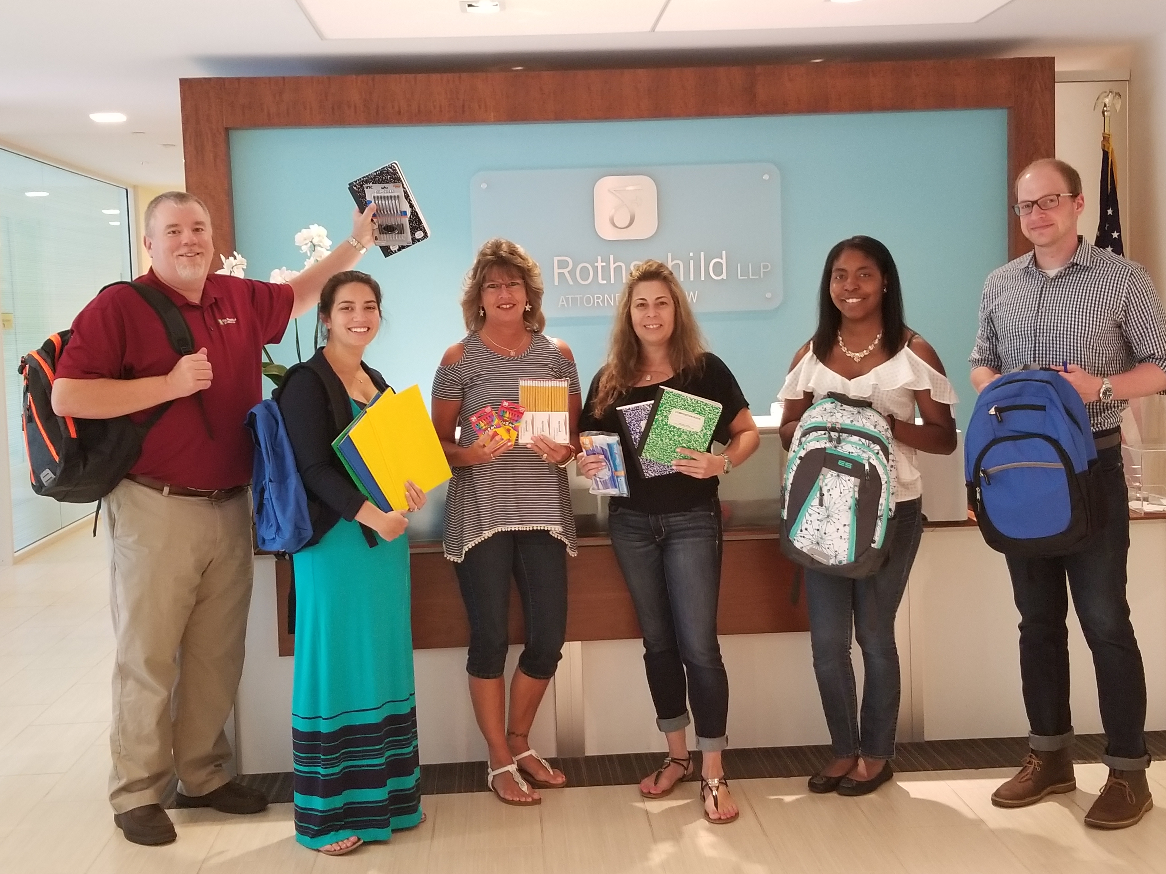 Fox Rothschild's Blue Bell Office Collects Donations for Big Brothers Big Sisters
