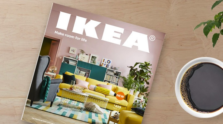 ikea 2018 catalogue make room for life aims to maximize customer 39 s living space. Black Bedroom Furniture Sets. Home Design Ideas