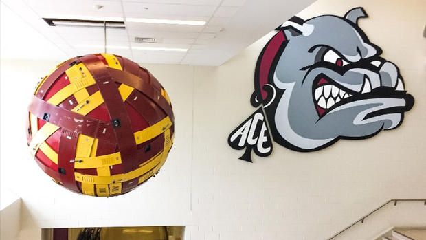 Lower Merion High School Graduate Brings Art Project to His Alma Mater