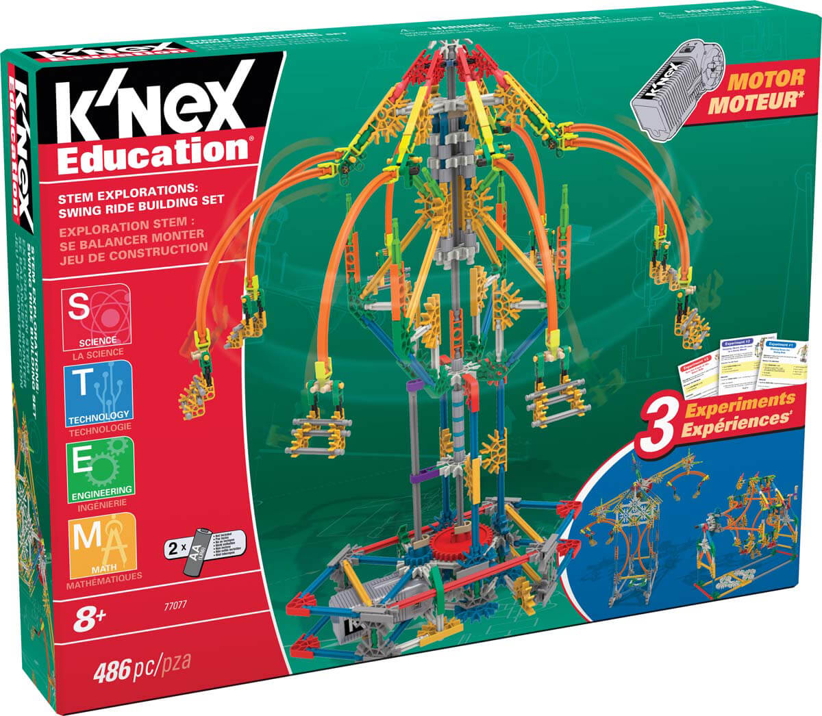 Hatfield's K'NEX Adds New STEM Based Sets to Its Product Line