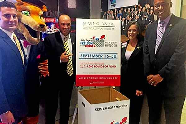 VFTCB Sets Ambitious Goal for Third Annual Freedom from Hunger Food Drive