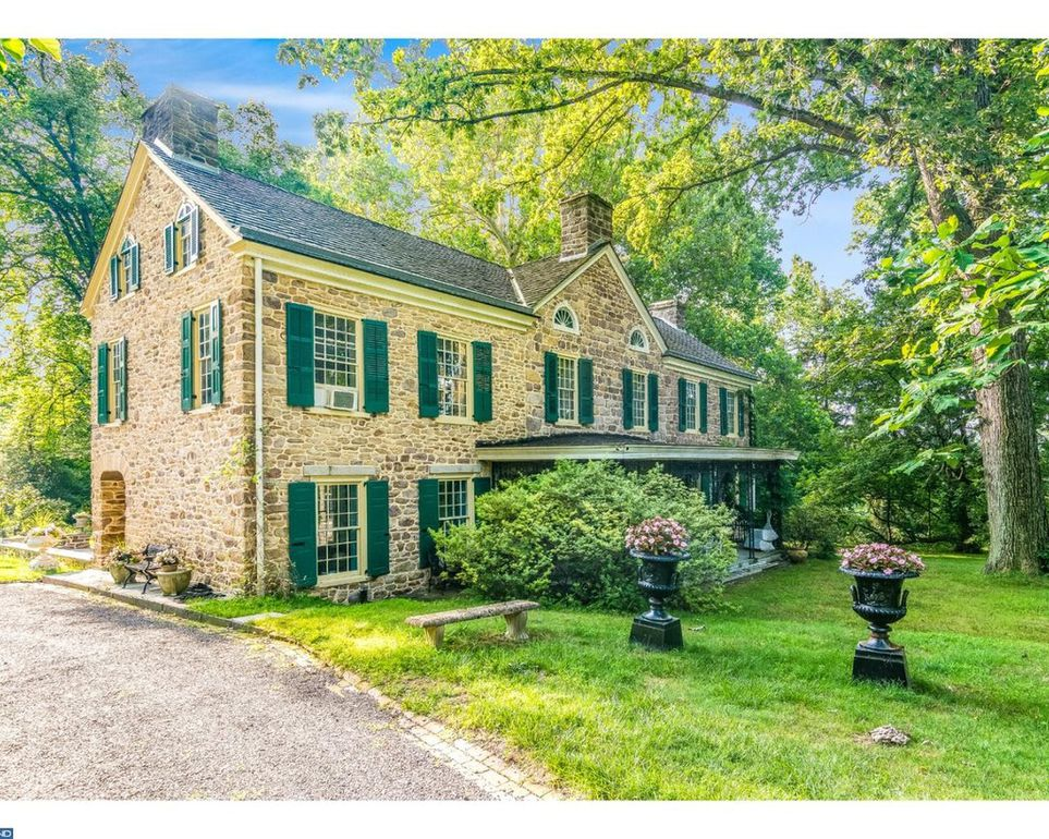 House of the Week: Gorgeous Historic Estate with Charming Stone Colonials in Ambler