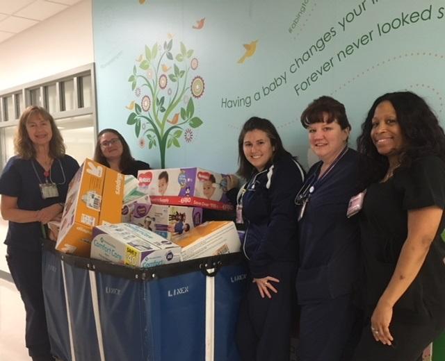 Abington Hospital diaper drive a huge success