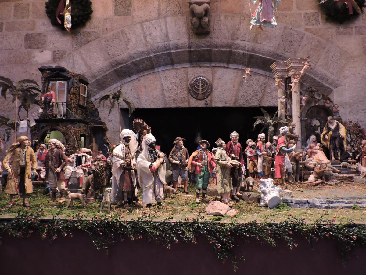 Family at the heart of Glencairn Museum World Nativities