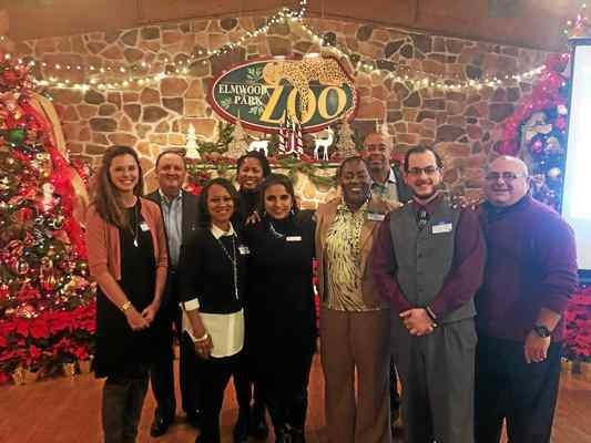 Norristown Chamber ends first year with Elmwood Park Zoo holiday mixer