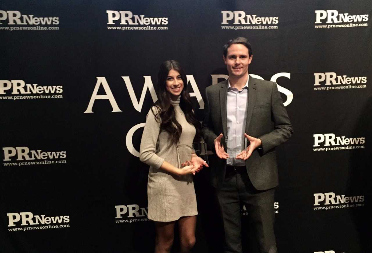 VFTCB's Taylor Tropea, Ed Harris honored at PR News People Awards