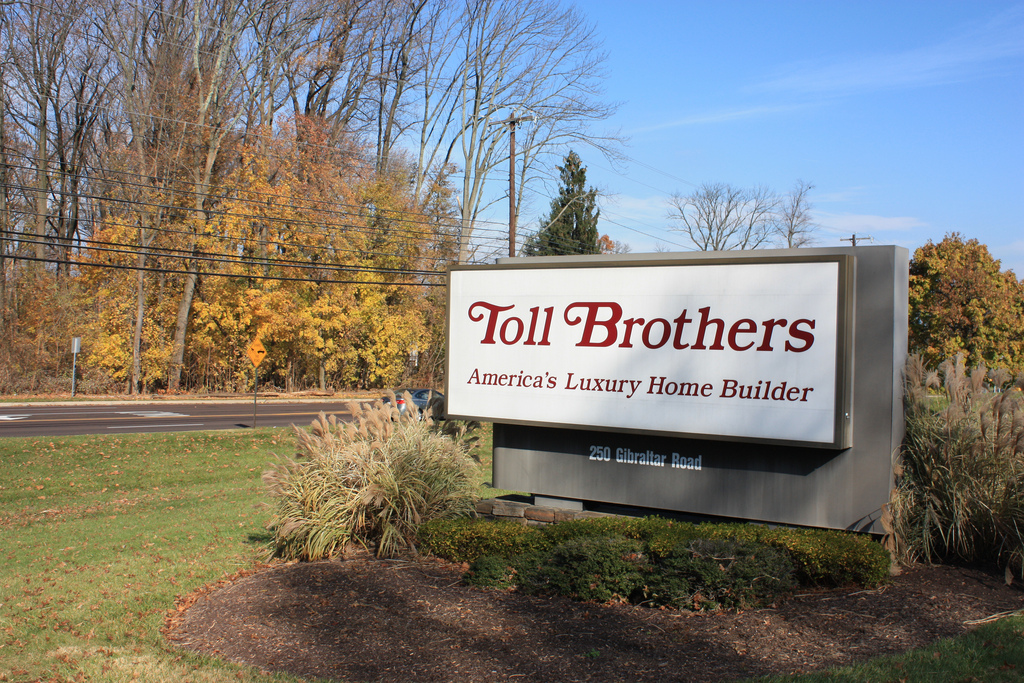 Toll Bros. reports boost in sales and profits