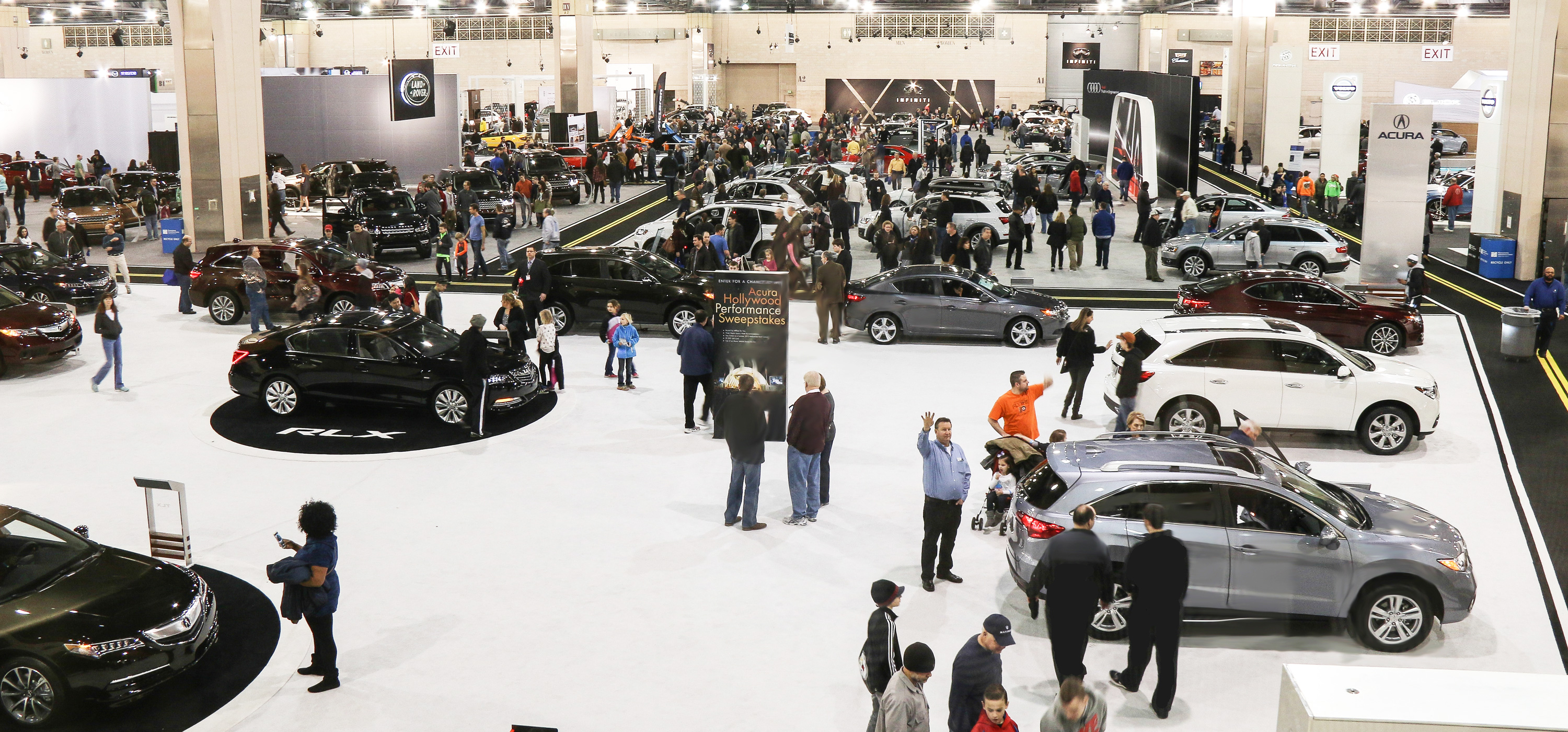 Automobile Dealers Association In East Norriton Behind The Wheel Of - How much are auto show tickets
