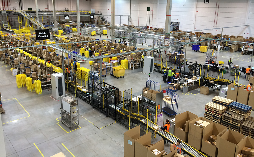 Amazon to open distribution center in Kulpsville