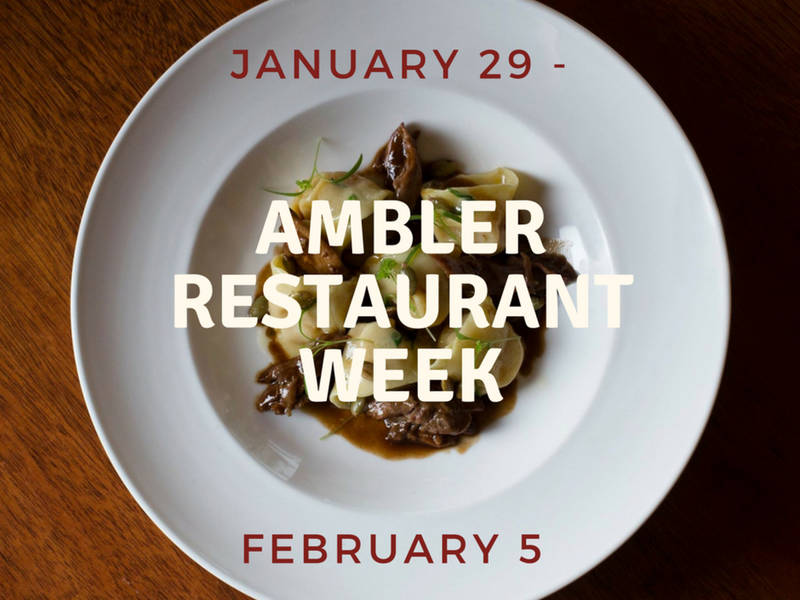Ambler Restaurant Week setting the table for a delicious experience