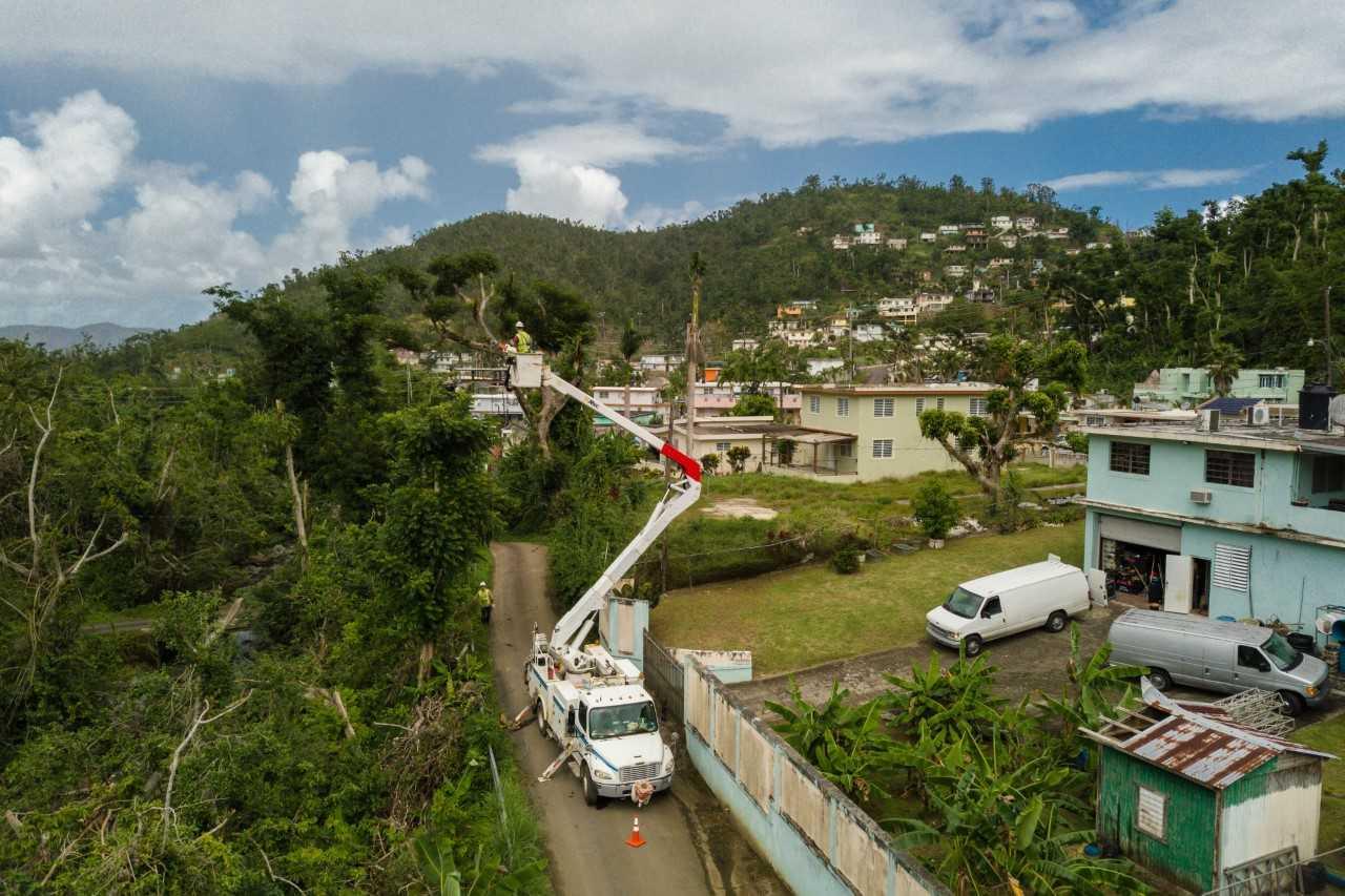 Harleysville man part of ongoing relief effort in Puerto Rico