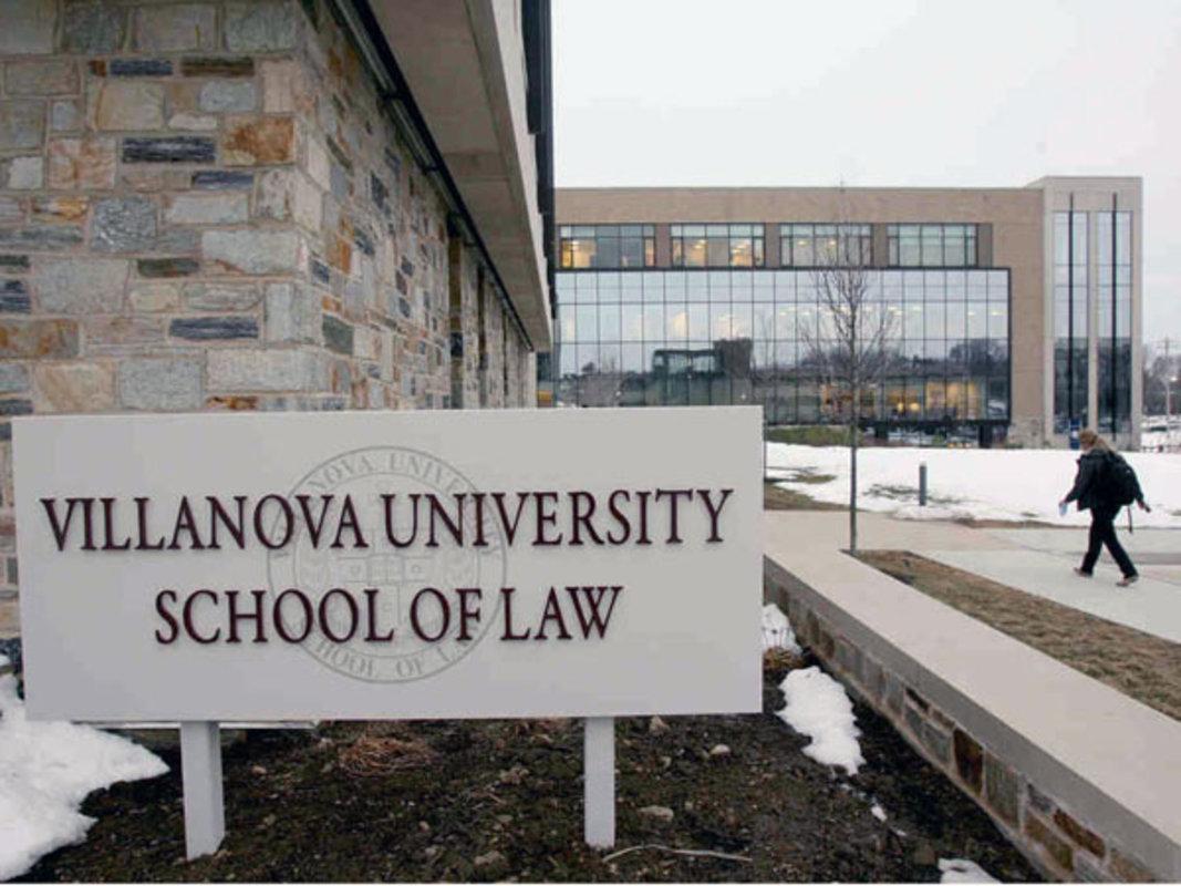 From DELCO: Villanova Climbs 12 Spots in Annual Law School Rankings