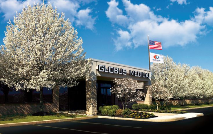 Audubon-based Globus Medical making run at orthopedic trauma market