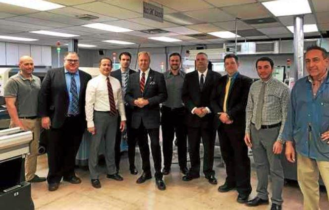 Positran Manufacturing in Norristown hosts legislators, Keystone Energy Efficiency Alliance
