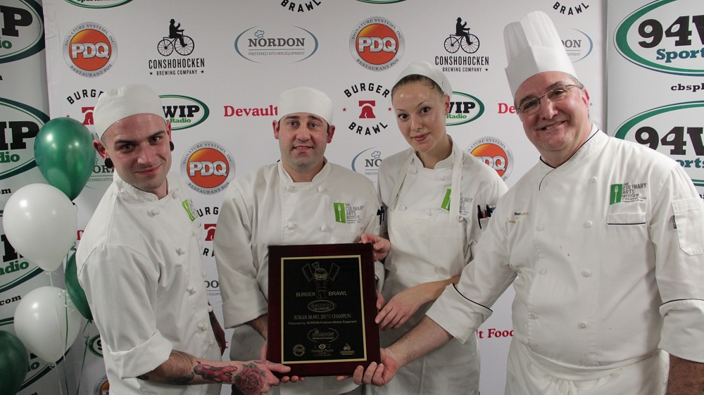 MCCC  Culinary Arts Institute students to compete in Philly Burger Brawl