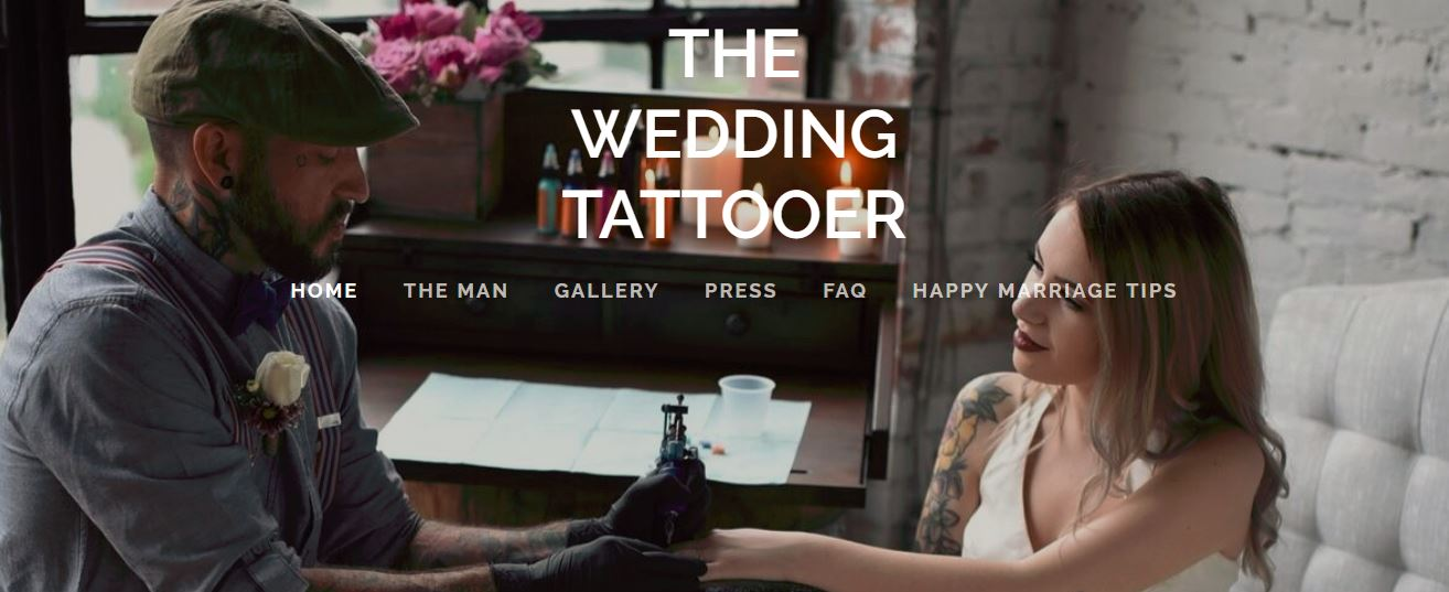 Lansdale artist believes that a wedding, like a tattoo, is forever