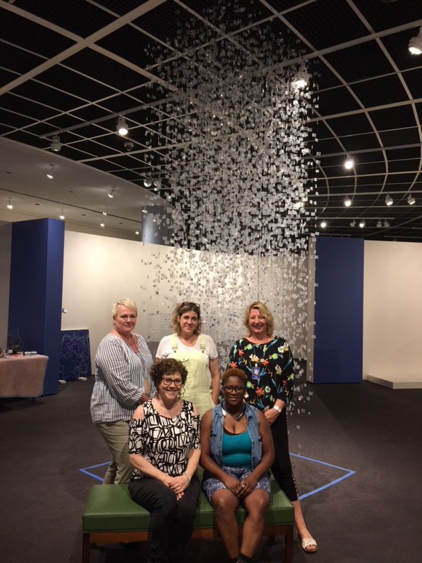 Montco alumna Maria Maneos chosen to participate  in the prestigious 2018 Art of the State Exhibition