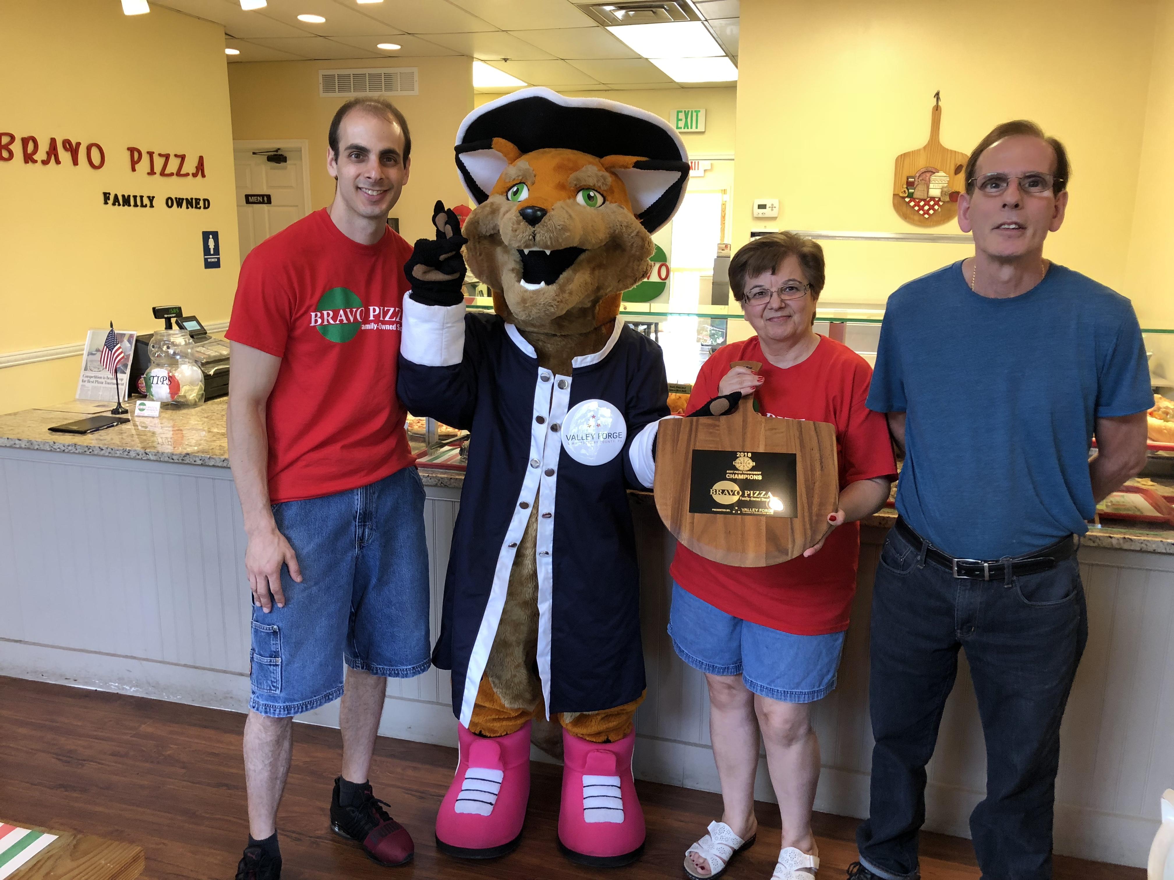 Montco's Best Pizza Tournament champ receives trophy