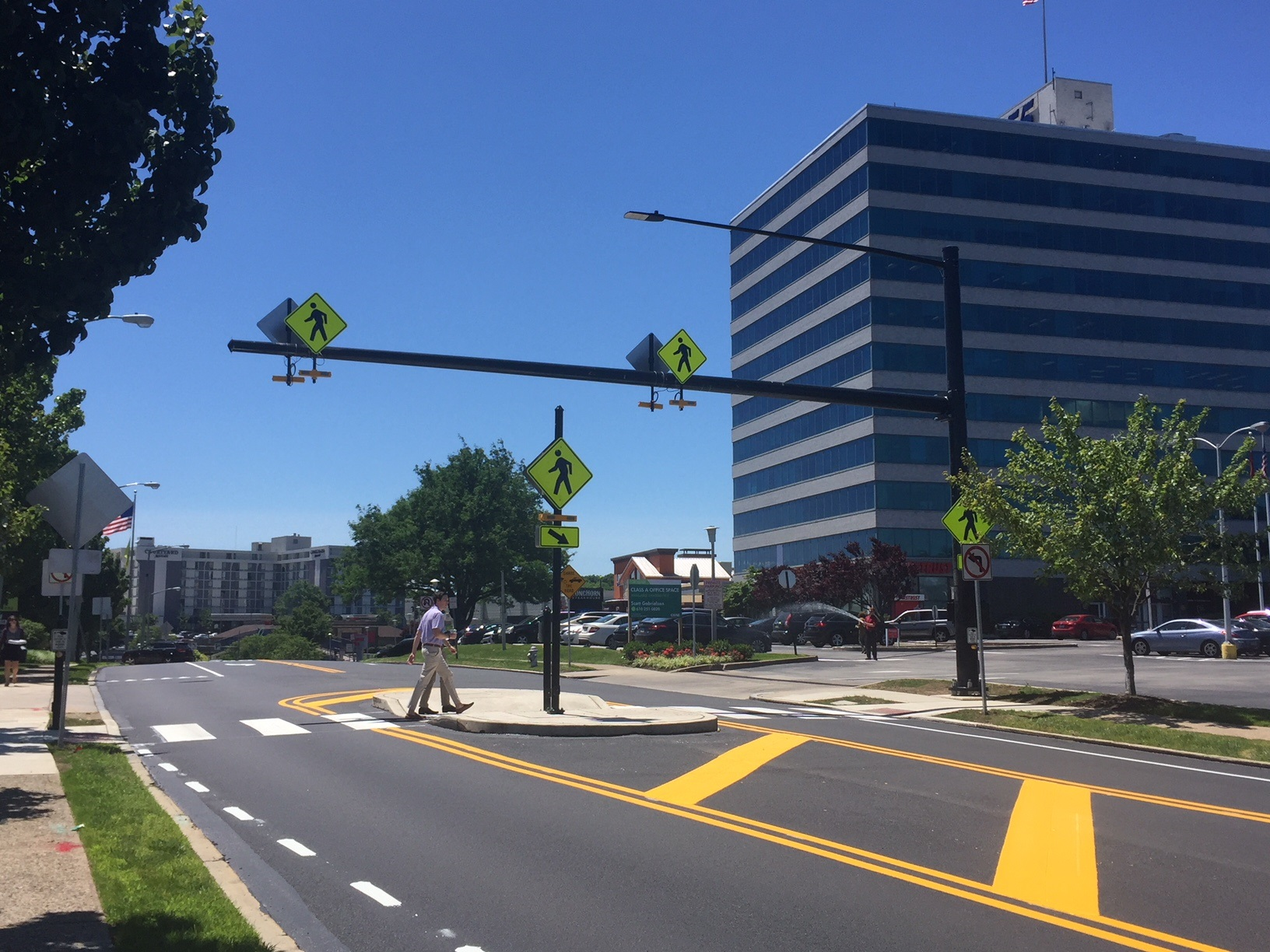 City Avenue District announces completion of Presidential Boulevard project