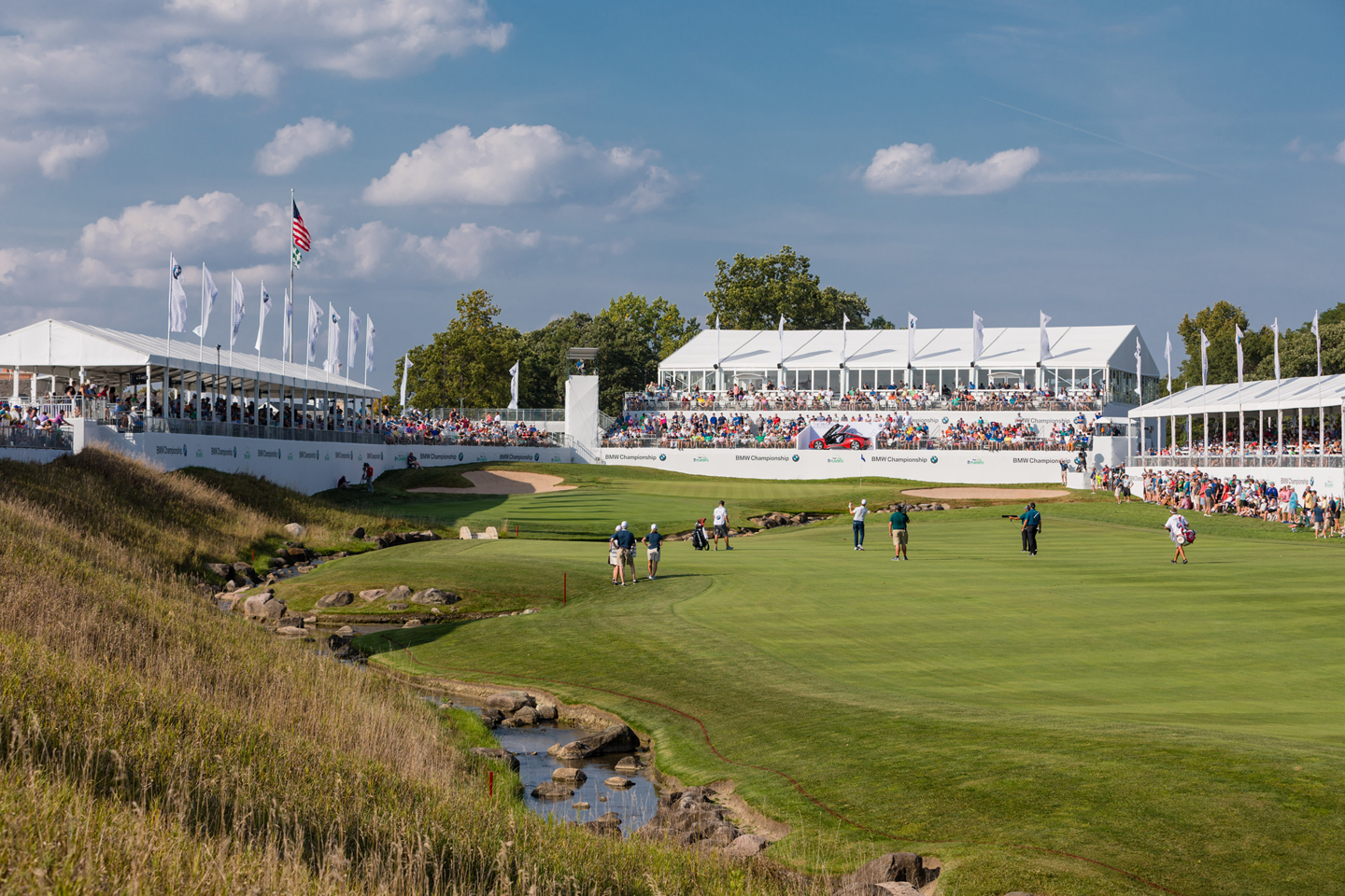 World's best golfers competing in the BMW Championship at Aronimink Golf Club