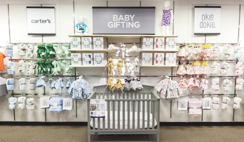 J.C. Penney stocks up on baby merchadise