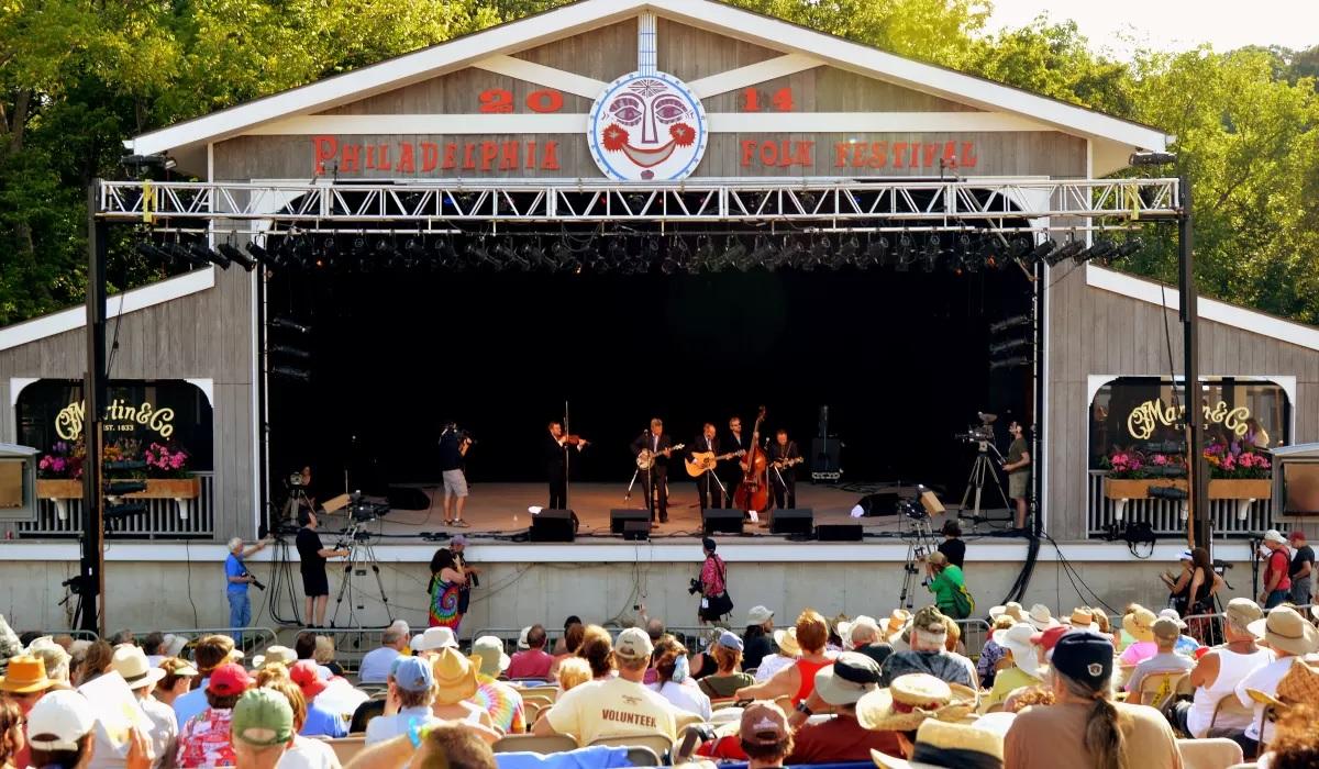 The Philadelphia Folk Festival is back