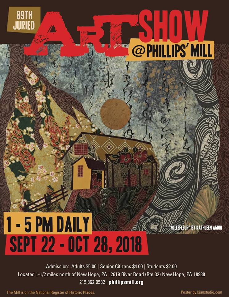 Artwork sought for 89th Phillips' Mill Juried Art Exhibition at Phillips' Mill