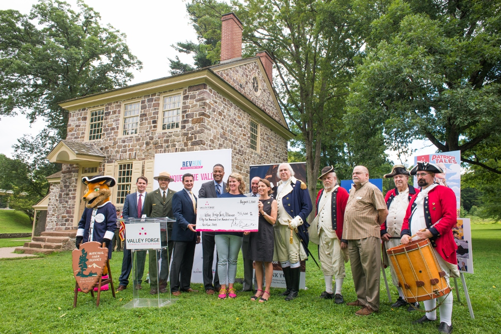 Rev Run makes record-breaking donation to Valley Forge Park
