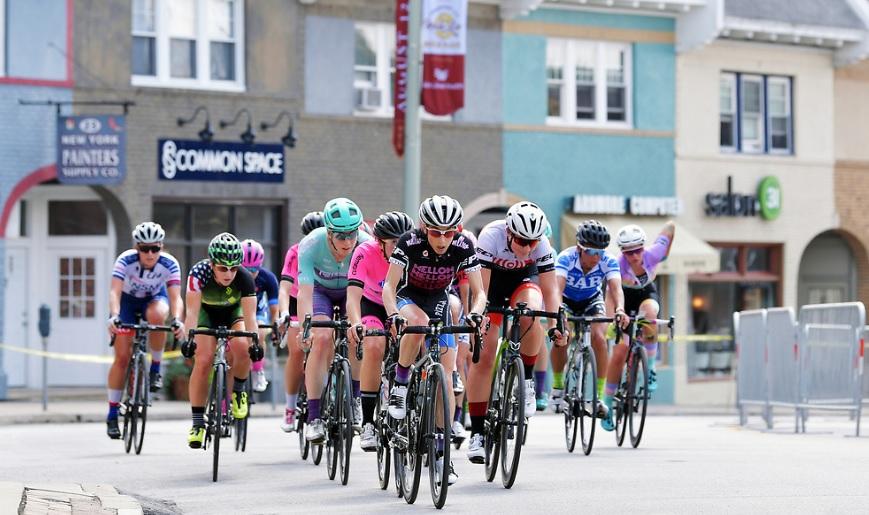 Main Line Bike Race puts spotlight on Ardmore